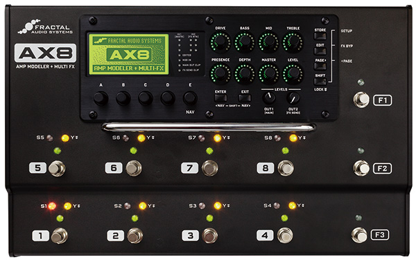 fractal audio systems ax8 digireco